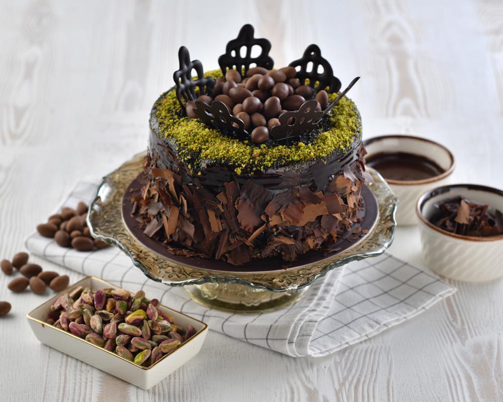 Çikolatalı Fıstıklı Pasta