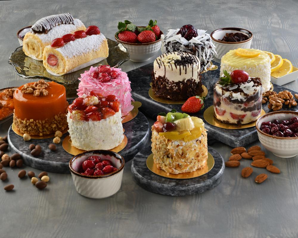 Meyveli  Adet Pastalar